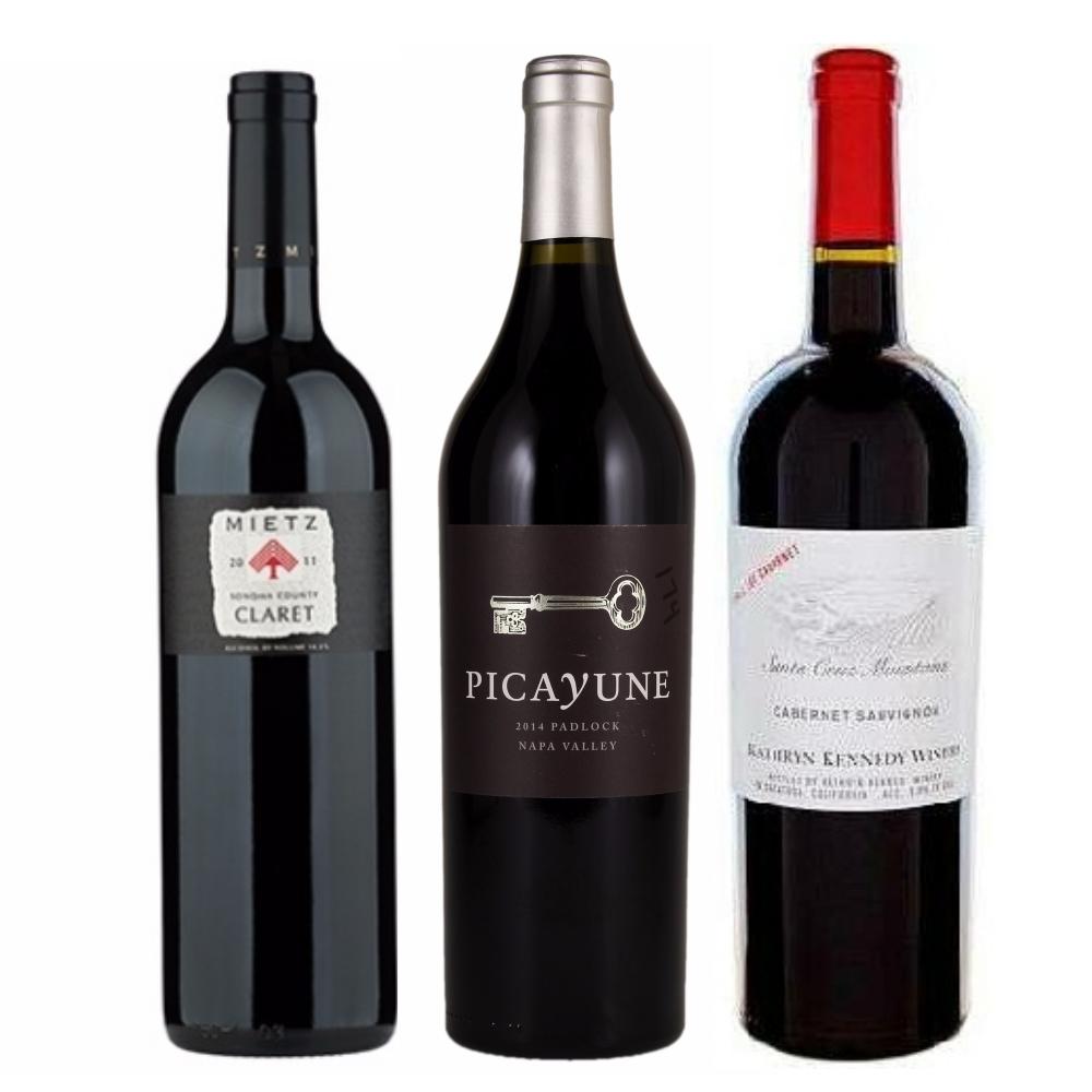 Wine Gift - 94+ point red wine trio