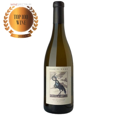 #7 Wine of 2018 Orrin Sage Chardonnay Top 100
