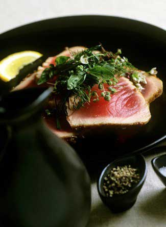 Miso Tuna - Cabernet Paired with Meaty Fish