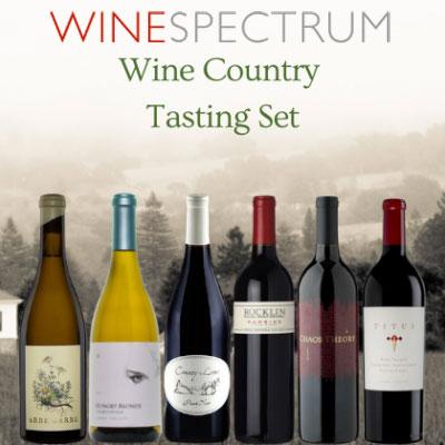 Wine Country Tasting Set